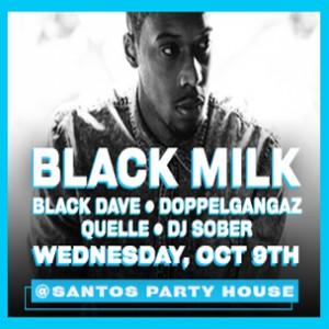 Black Milk Concert Ticket Giveaway