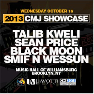 "Duck Down x Talib Kweli ""CMJ Showcase"" Giveaway"