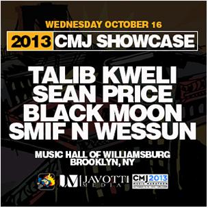 "Duck Down x Talib Kweli ""CMJ Showcase"" Giveaway"