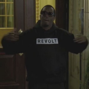 Diddy - Launches Revolt TV from the Childhood Home of The Notorious B.I.G.