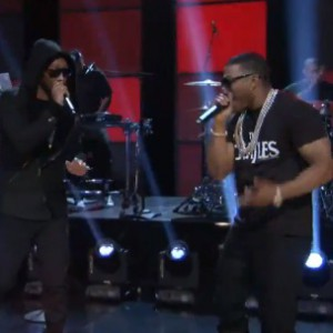 "Nelly f. Future - ""Give U Dat"" (Live On Arsenio Hall)"