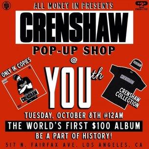 "Nipsey Hussle Charging $100 For ""Crenshaw"" Mixtape"