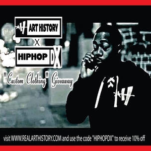 "Art History x HipHopDX ""Custom Clothing"" Giveaway"