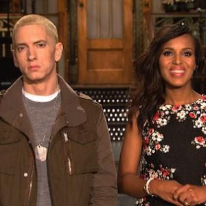 Eminem & Kerry Washington - SNL Promo