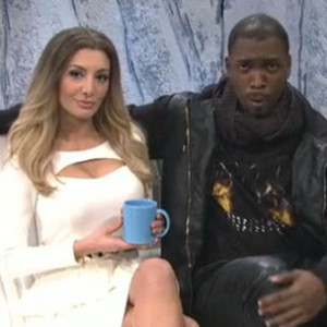 "Kanye West & Kim Kardashian - Spoofed In ""Waking Up With KimYe"" SNL Skit Starring Lady Gaga"