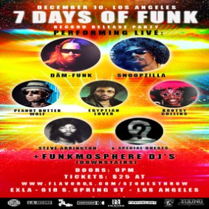 Snoop Dogg & Dam Funk Ticket Giveaway