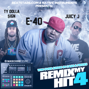"BeatStars x E-40 ""Remix My Hit"" Contest"