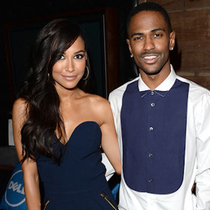 Big Sean & Naya Rivera Release Happy Holidays Card