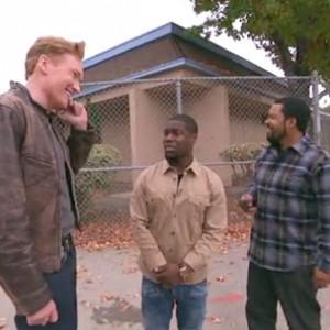 Ice Cube & Kevin Hart - Share A Lyft Car With Conan O'Brien