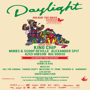 Daylight x HipHopDX Holiday Toy Drive Giveaway