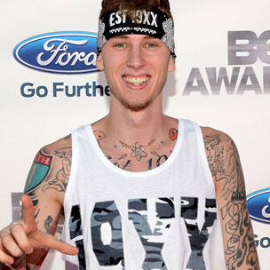 "MGK Says He's Scared To Listen To Eminem's ""MMLP2"""
