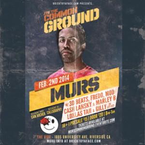 Murs Concert Ticket Giveaway