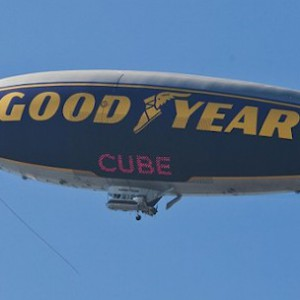"""Ice Cube's Name On Goodyear Blimp In Honor Of """"It Was A Good Day"""""""