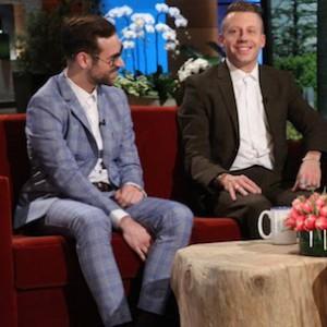 Macklemore & Ryan Lewis - Talk Grammys & Relationships on The Ellen Show