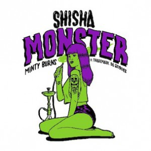 Minty Burns f. Trademark Da Skydiver - Shisha Monster