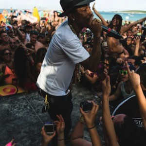 Pharrell - Debuts New Song On The Holy Ship Cruise