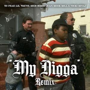 YG f. Lil Wayne, Rich Homie Quan, Meek Mill & Nicki Minaj - My Nigga (Remix)
