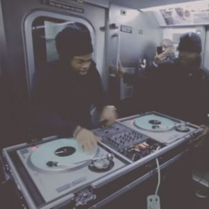 TJ Mizell - Spins Jay Z Tribute On Train To Marcy