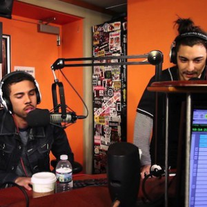 Vic Mensa, Mibbs (of Pac Div) & Tokyo - Freestyle on Sway in the Morning