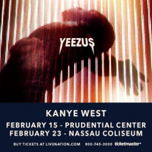 "Kanye West ""Yeezus Tour"" Ticket Giveaway"