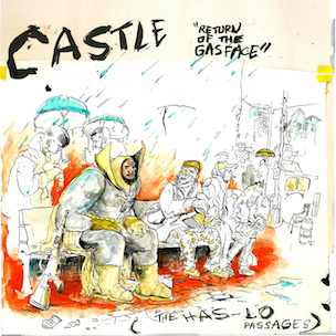 "Castle ""Return of the Gasface (The Has-Lo Passages)"" Release Date & Cover Art"