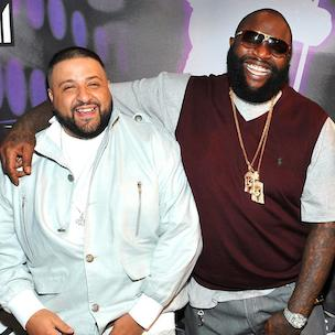 "DJ Khaled Praises Rick Ross's ""Vision"" At ""Mastermind"" Listening Session"