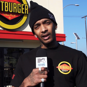 Nipsey Hussle Designs FATBURGER Uniforms