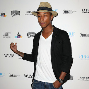 "Pharrell Reveals Unhappiness With ""In My Mind"" & Joy For ""G I R L"""