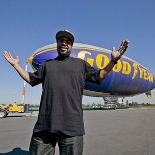 "Ice Cube Says ""I Never Thought My Name Would Be On The Blimp"""