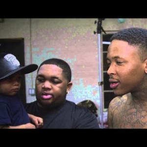 """YG f. Lil Wayne, Meek Mill, Rich Homie Quan & Nicki Minaj - """"My Hitta"""" (Remix) [Behind The Scenes]"""