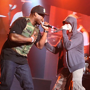 50 Cent Says Eminem Is Underrated