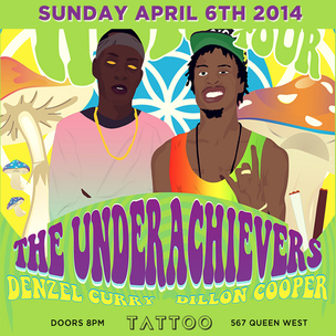 The Underachievers Concert Ticket Giveaway
