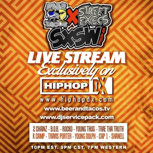 Live Stream Of Beer N Tacos & Street Execs SXSW Stage