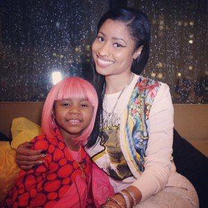 Nicki Minaj Grants Wish For Cancer Patient & Throws Birthday Party For Her Teen Brother