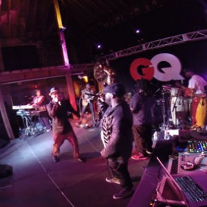 """The Roots & J.Period f. Juvenile - """"Back That Azz Up"""" (Live At GQ Magazine Issue Release)"""