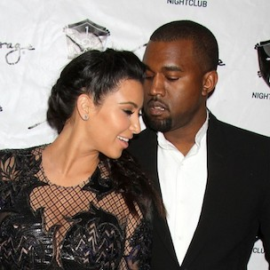 "Kanye West & Kim Kardashian Cover ""Vogue"" April 2014 Issue; Photos Released"