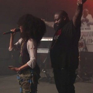 Rick Ross & Erykah Badu - Perform Live at FADER Fort