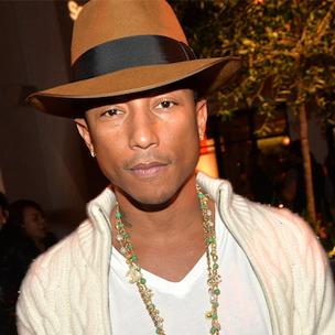 """Pharrell Says He Wrote Ten Versions Of """"Happy"""""""