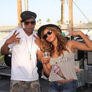 Beyonce Instagrams Coachella; Nas & Jay Z Pictured Together