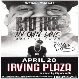 Kid Ink Concert Ticket Giveaway
