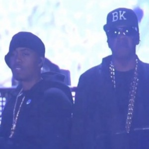 Nas - Brings Out Jay Z And Puff Daddy During 2014 Coachella Set