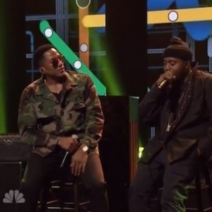 """Nas f. Q-Tip & The Roots - """"One Love"""" And """"The World Is Yours"""" The Tonight Show Performances"""