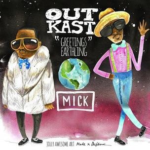 Outkast - Greetings Earthlings - Rarities And Remixes Mixtape
