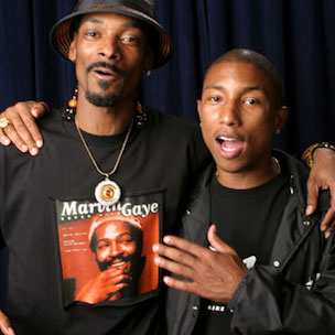 Snoop Dogg In Studio With Pharrell & Stevie Wonder
