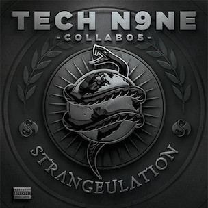 "Tech N9ne Collabos ""Strangeulation"" Release Date, Cover Art & Tracklist"
