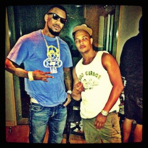 Game & T.I. Confront LAPD & Nightclub Security Guards
