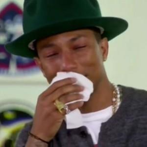 "Pharrell Williams - Cries On ""Oprah Prime"""