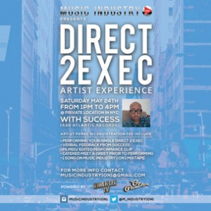 """Direct 2 Exec"" Artist Experience Giveaway"
