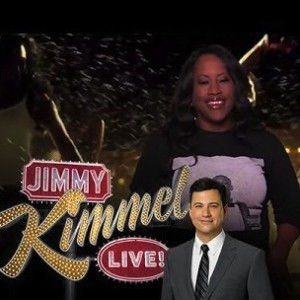 """YG's - Mom Recites """"Toot it & Boot It"""" (Live On Jimmy Kimmel)"""