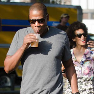 Jay Z, Beyonce, Solange Knowles, Tina Knowles Photographed Together